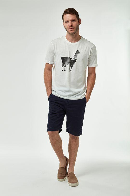 Camiseta-Lhama-Grafica---Branco---Tamanho-P