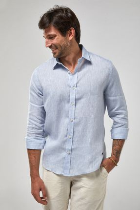 Camisa-ML-100--Linho-Mescla---Azul-Claro