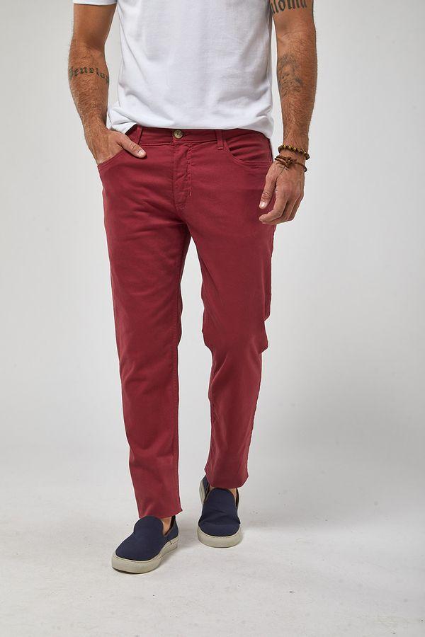 Calca-5-Pockets---Vermelho---Tamanho-38