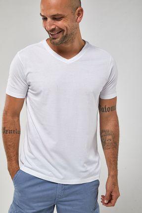 Camiseta-Gola-V---Branco---Tamanho-P