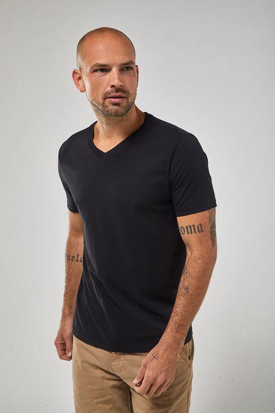 Camiseta-Gola-V---Preto---Tamanho-G