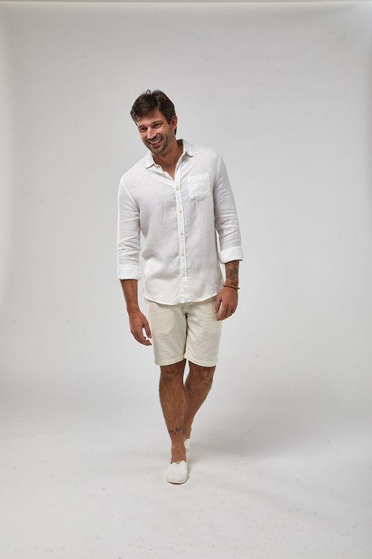 Camisa-ML-100--Linho-Tinturado---Branco---Tamanho-P