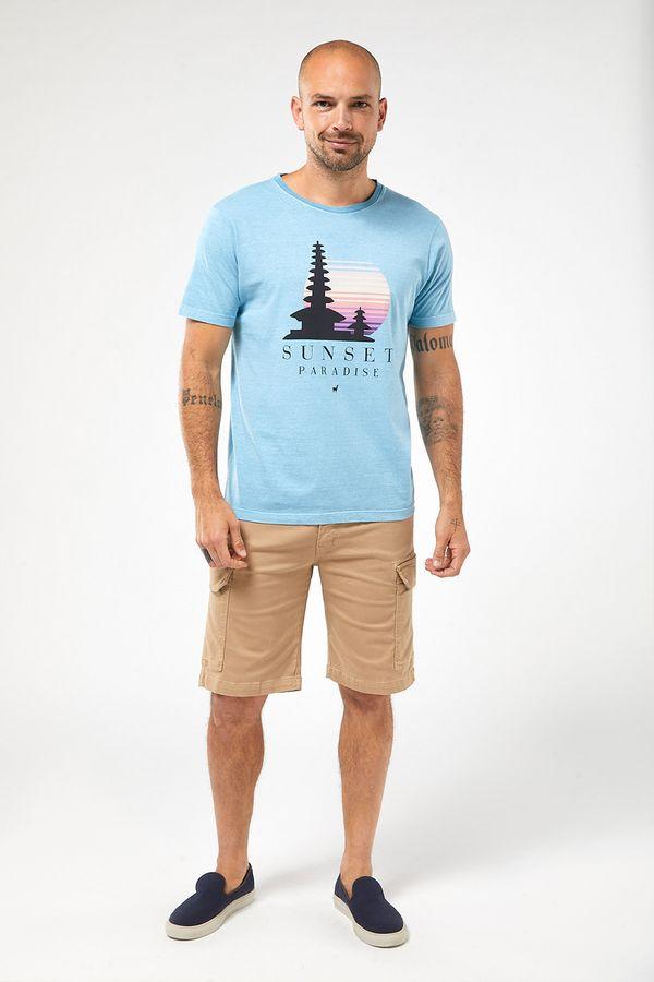 Camiseta-Sunset---Azul-Claro-Stone---Tamanho-P