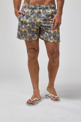 Shorts-Paisley---Amarelo---Tamanho-X