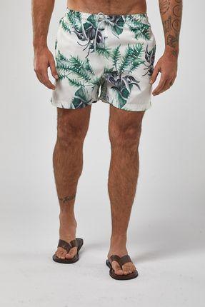Shorts-Folhagem---Amarelo---Tamanho-P