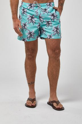 Shorts-Bananeiras---Verde---Tamanho-P