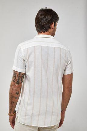 Camisa-Mc-Resort---Branco-Bege---Tamanho-P