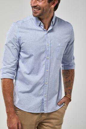 Camisa-ML-Fio-A-Fio---Azul-Royal---Tamanho-M