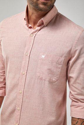 Camisa-ML-Fio-A-Fio---Papaya---Tamanho-X