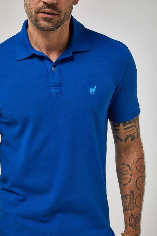 Polo-Lhama-Stretch---Azul-Royal---Tamanho-P